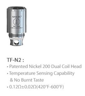 3fvape smoktech tfv4 tf N2 ni200  core