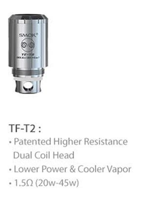 3fvape smoktech tfv4 tf t2 core