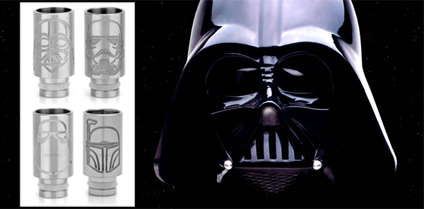 OMG! Star Wars on Atomizer Drip Tips~