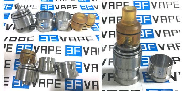 Le Zephyr Style RTA Atomizer 3fvape.com