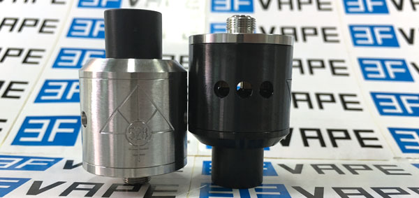 Goon Style RDA Black and Silver