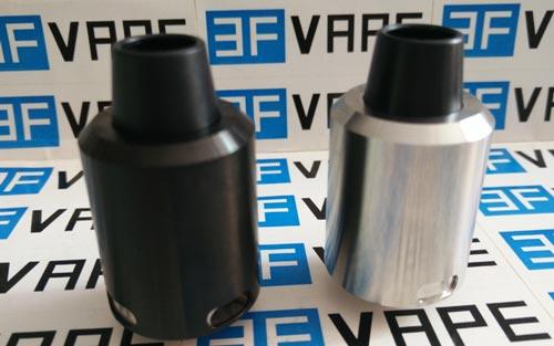 Geekvape-Tsunami-24 RDA silver black-3fvape.com