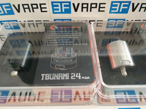 Geekvape Tsunami 24 RDA unboxing-3fvape.com