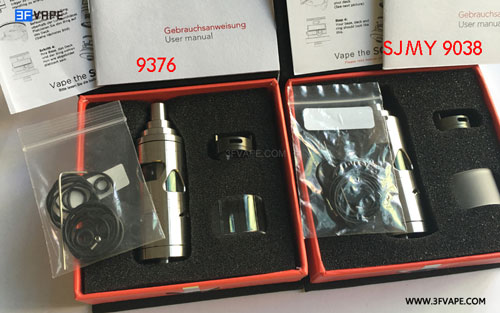 SQuape X Dream Style 316 Stainless Steel RTA