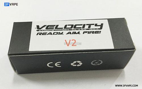 Velocity V2 Style RDA Box - 3FVAPE