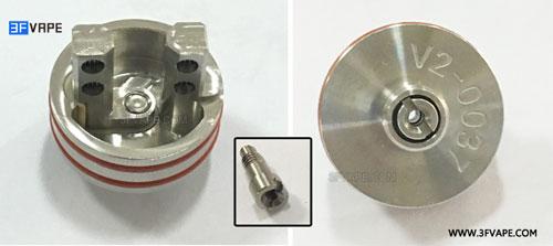 Velocity V2 Style RDA Squonk Pin - 3FVAPE