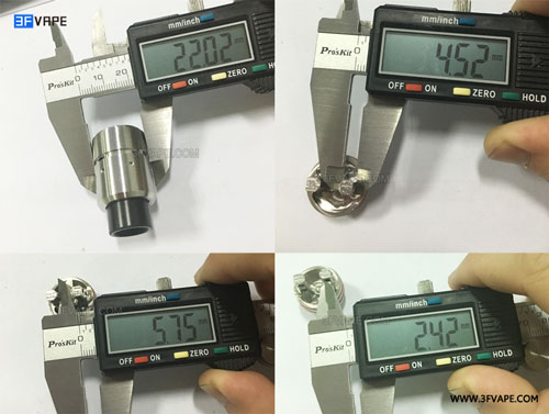 Velocity V2 Style RDA Size - 3FVAPE