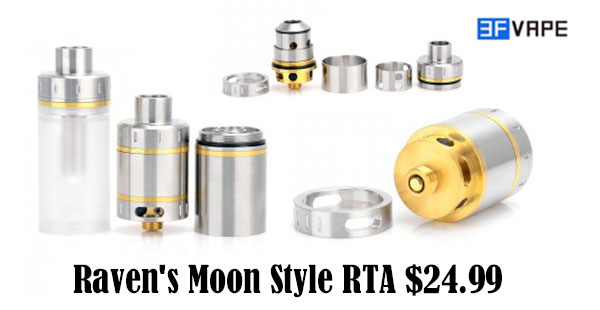 Raven's Moon style RTA / RDA Review