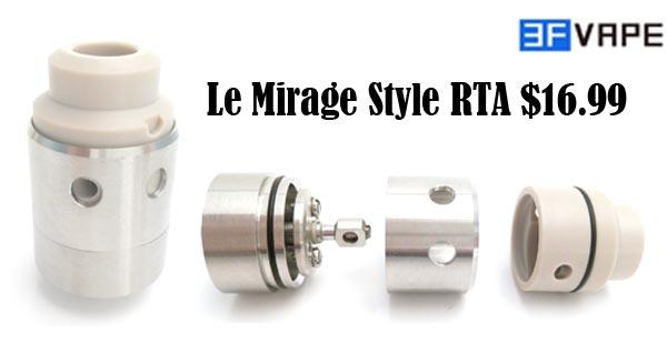 Le Mirage Style RTA Atomizer