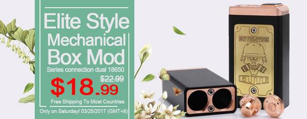 Elite Style Mechanical Box Mod