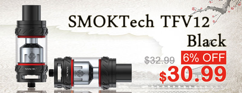 SMOKTech TFV12 Black Flash Sale - 3FVAPE