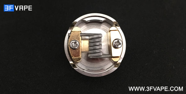Goon Max Style RDA with Alien Clapton Coil