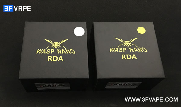 Authentic Oumier Wasp Nano Mini RDA Boxing