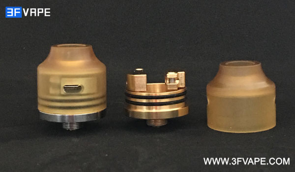 Authentic Oumier Wasp Nano Mini RDA Deck & Top Cap