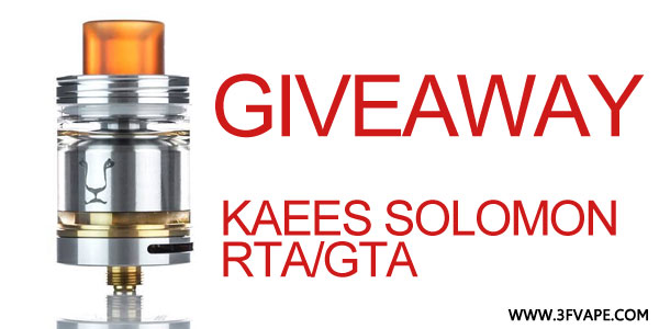Authentic KAEES Solomon RTA Giveaway