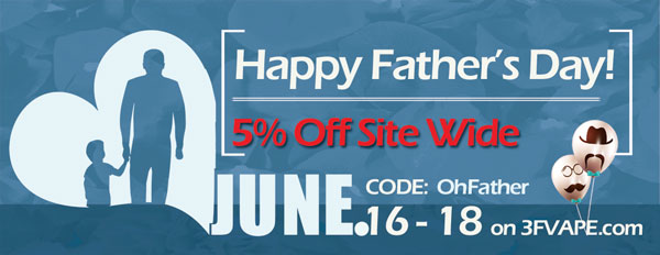 Happy Father's Day - 5% Off Site Wide