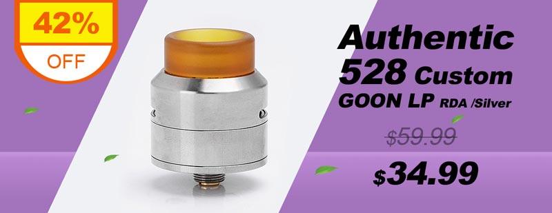 Authentic 528 Custom GOON LP Low Profile RDA