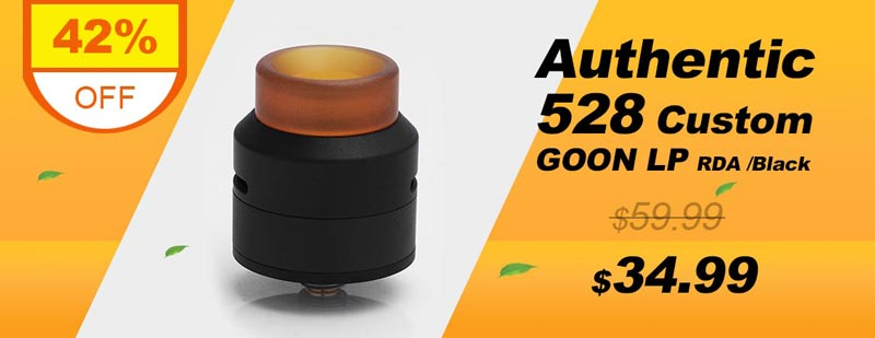 Authentic 528 Custom GOON LP Low Profile RDA
