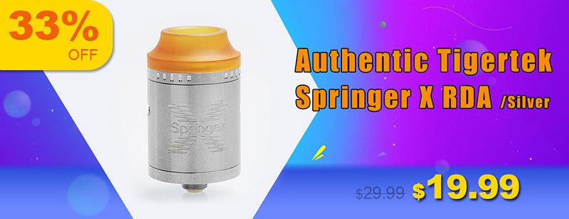 Authentic Tigertek Springer X RDA