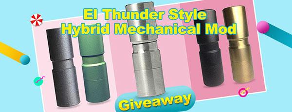 EL TH Style Hybrid Mechanical Mod Giveaway