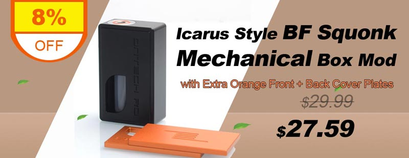 Icarus Style BF Squonk Mechanical Box Mod