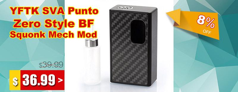 YFTK-SVA-Punto-Zero-Style-BF-Squonk-Mech-Box-Mod