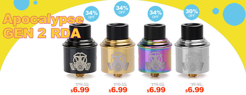 Apocalypse GEN 2 RDA Flash Sale - 3FAPE