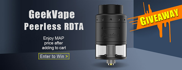 Authentic GeekVape Peerless RDTA