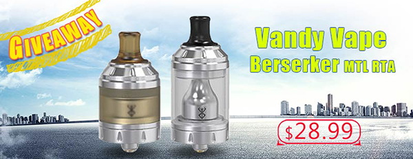 Authentic Vandy Vape Berserker MTL RTA