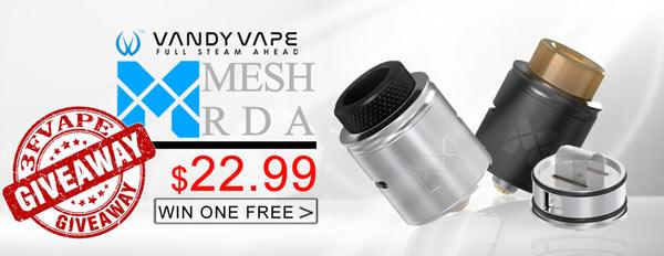 Authentic Vandy Vape MESH BF RDA