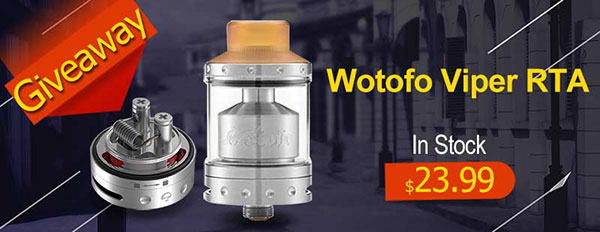 Authentic Wotofo Viper RTA