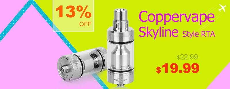 Coppervape Skyline Style RTA