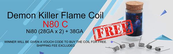 Demon Killer Flame Coil N80 C