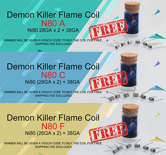 Authentic Demon Killer Flame Coil N80