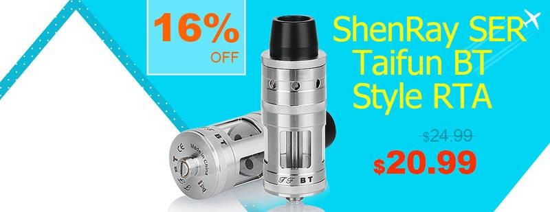ShenRay SER Taifun BT Style RTA