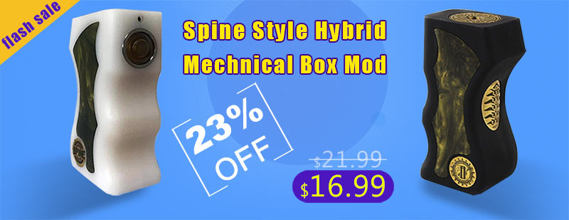 Spine Style Hybrid Mechnical Box Mod