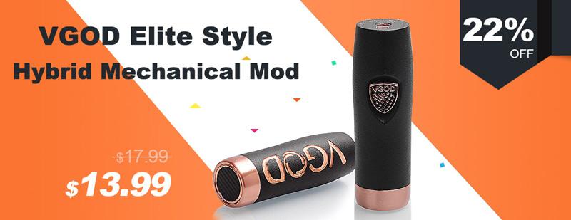 VGOD Elite Style Hybrid Mechanical Mod