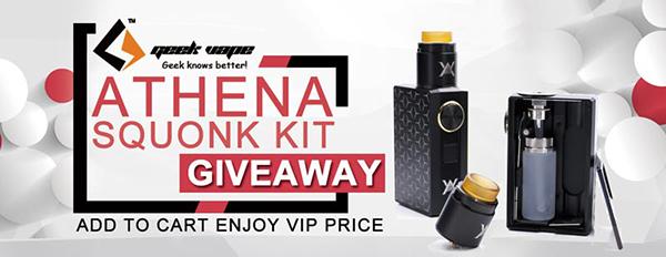 GeekVape Athena Squonk Kit