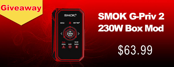 Authentic SMOK G-Priv 2 230W Box Mod Giveaway [Ended]