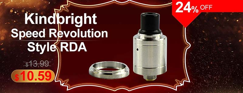 Kindbright Speed Revolution Style RDA