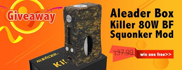 Aleader Box Killer 80W BF Squonk Box
