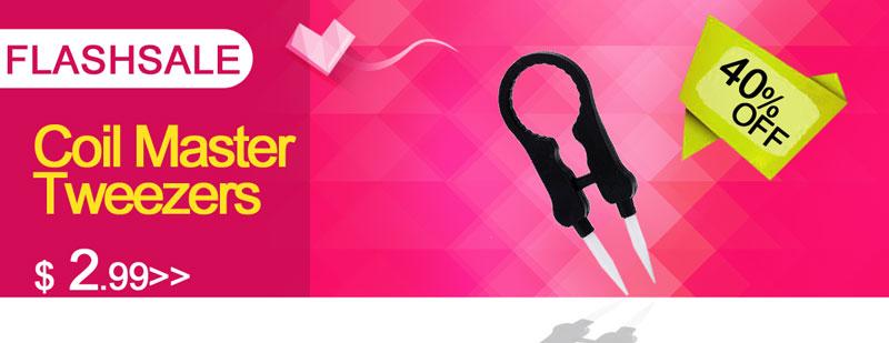 Authentic Coil Master Multifunctional Vape Tweezers FlashSale