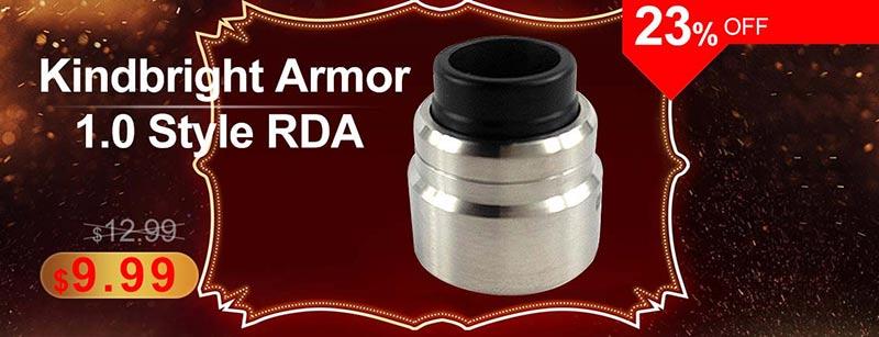 Kindbright Armor 1.0 Style RDA