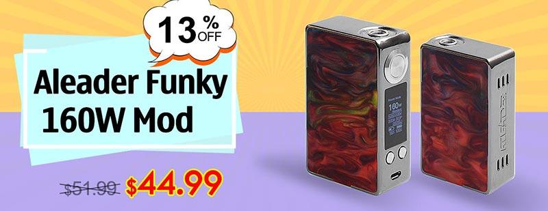 Aleader Funky 160WMod - Gun Metal + Random Color