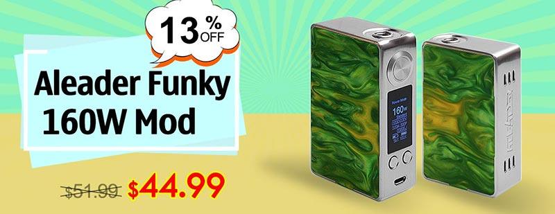 Aleader Funky 160WMod - Silver + Random Color