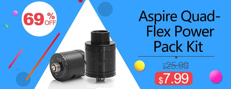 Aspire Quad-Flex Power Pack Kit