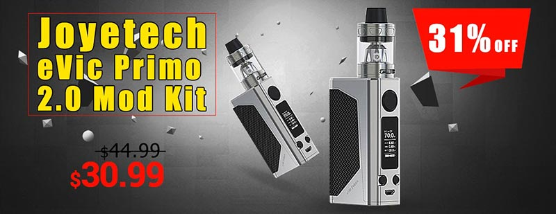 Joyetech eVic Primo 2.0 Mod with ProCore Aries Atomizer