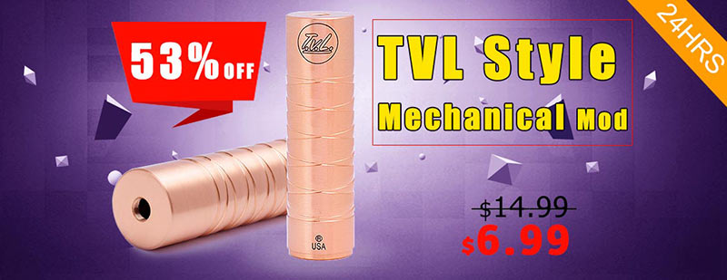 TVL Style Mechanical Mod