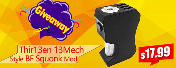 Thir13en 13Mech Style BF Squonk Mod