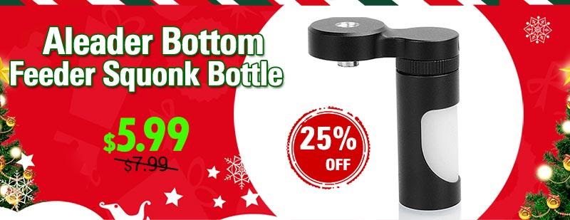 Authentic Aleader BF Bottom Feeder Squonk Bottle for Mechanical Mod
